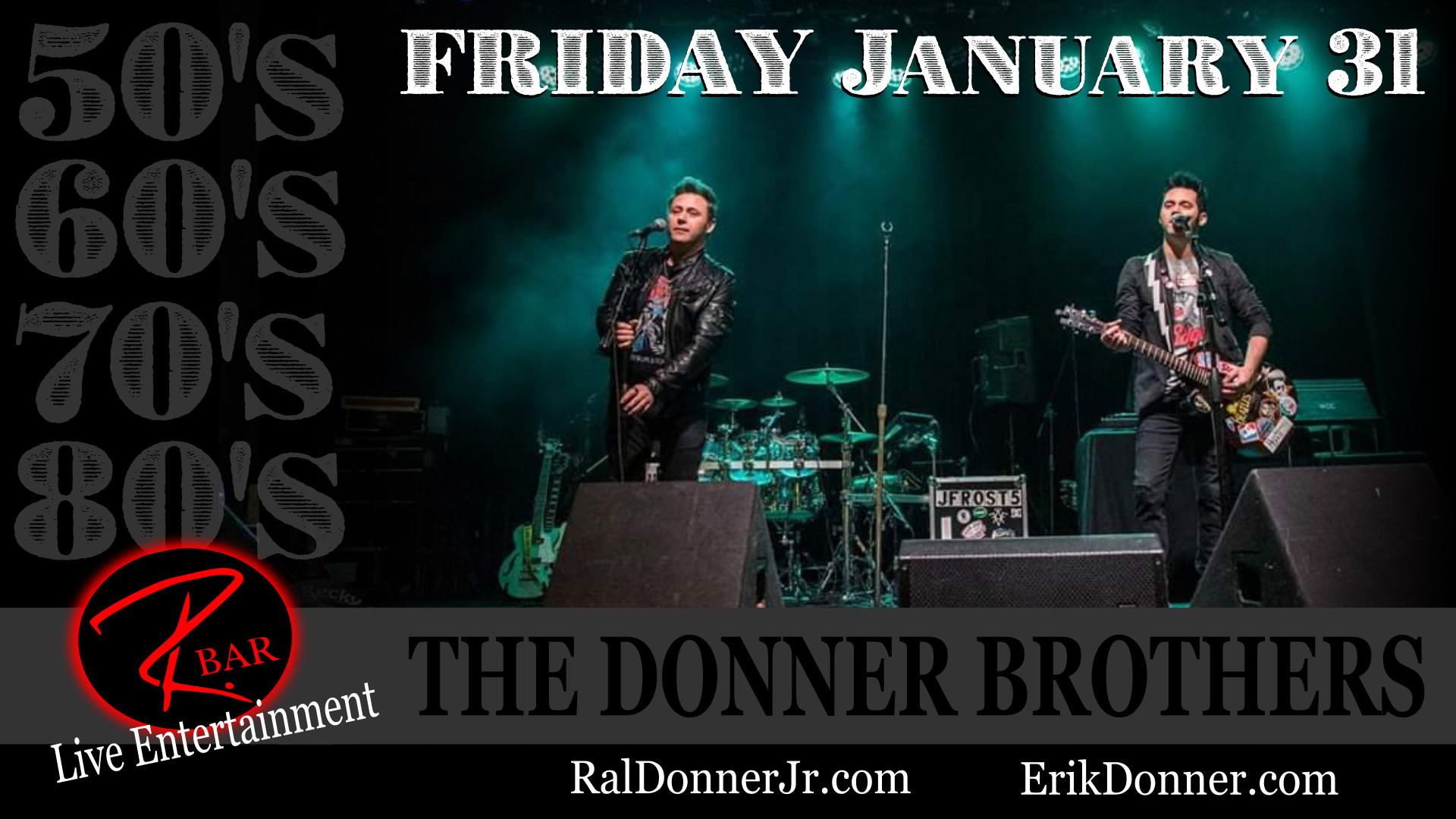The Donner Brothers - LIVE at Evviva! @ Evviva! Bar & Eatery