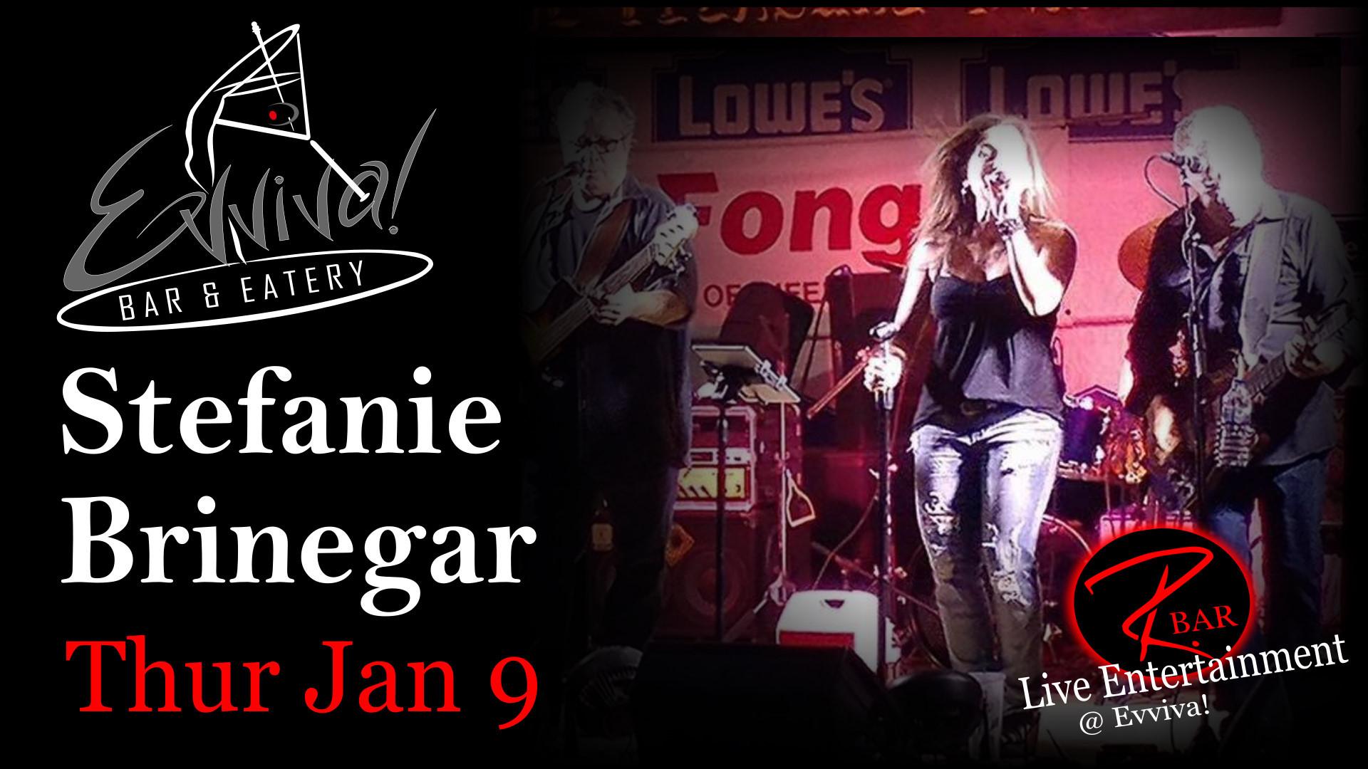 Stefanie Brinegar - Live Entertainment @ Evviva! Bar & Eatery