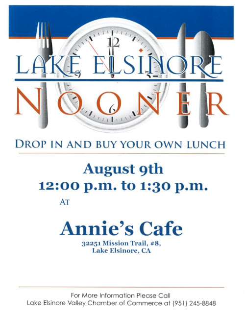 Lake Elsinore Police Activity Today