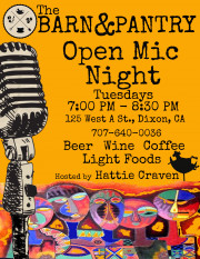 Open Mic Night Every Tuesday