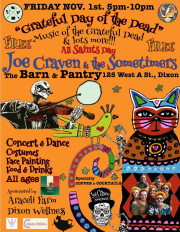 Grateful Day of Dead Festival with Joe Craven + the Sometimers