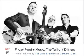 Friday Food + Music: The Twilight Drifters