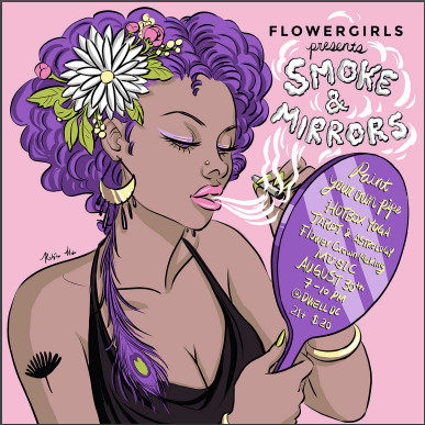 Femme Fatale x Flower Girls: Smoke and Mirrors