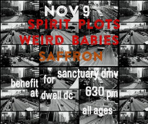Benefit: Weird Babies / Spirit Plots / Saffron