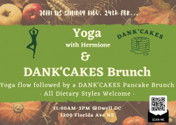 Brunch and Yoga: DANK'cakes