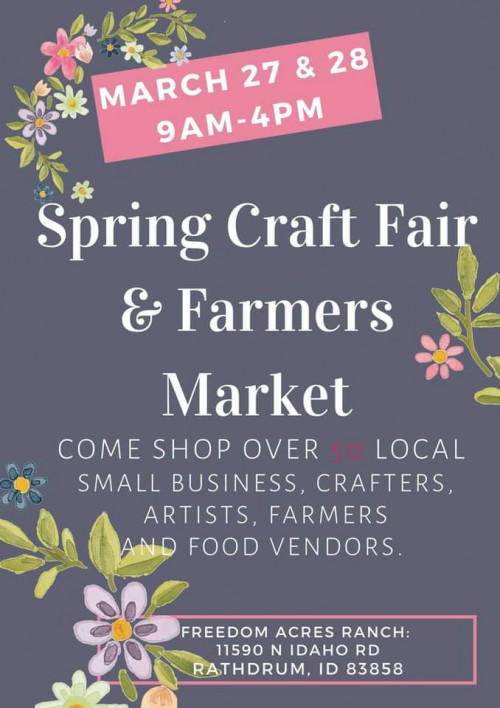 Spring Craft Fair & Farmer's Market