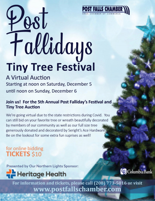 Virtual - 5th Annual Post Fallidays Tiny Tree Festival