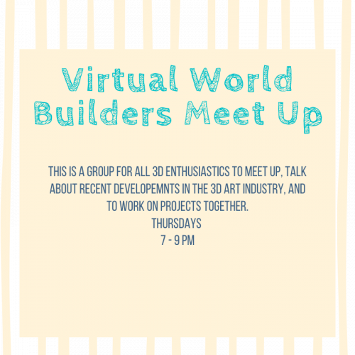 Virtual World Builders Meetup