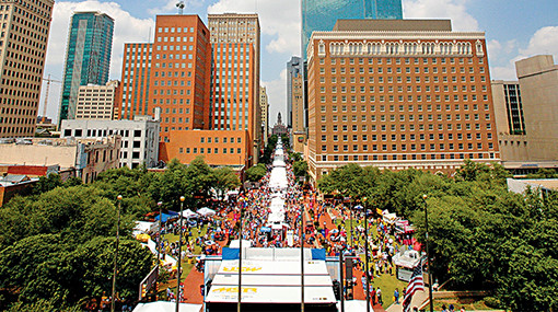 2020 MAIN STREET Fort Worth Arts Festival
