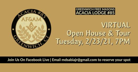Greenwich Free Masons Virtual Open House & Tour