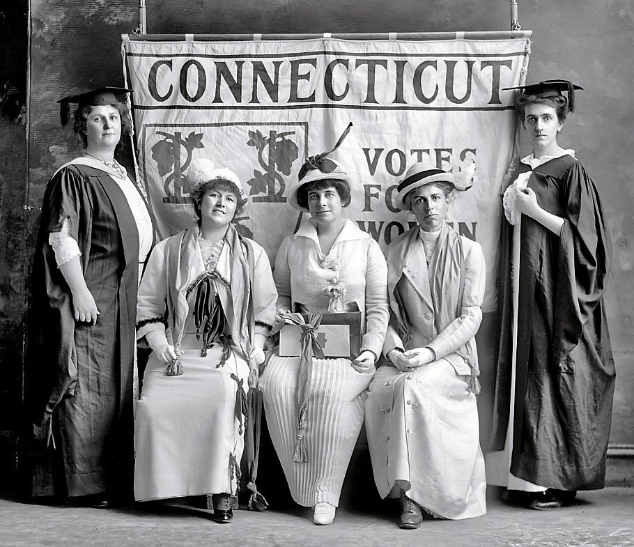 Virtual: Votes for Women Lecture from CT Women's Hall of Fame
