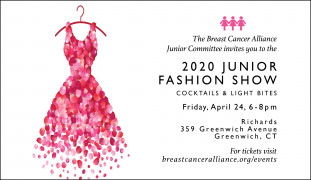 Breast Cancer Alliance Annual Junior Committee Fashion Show – Cocktails and Light Bites