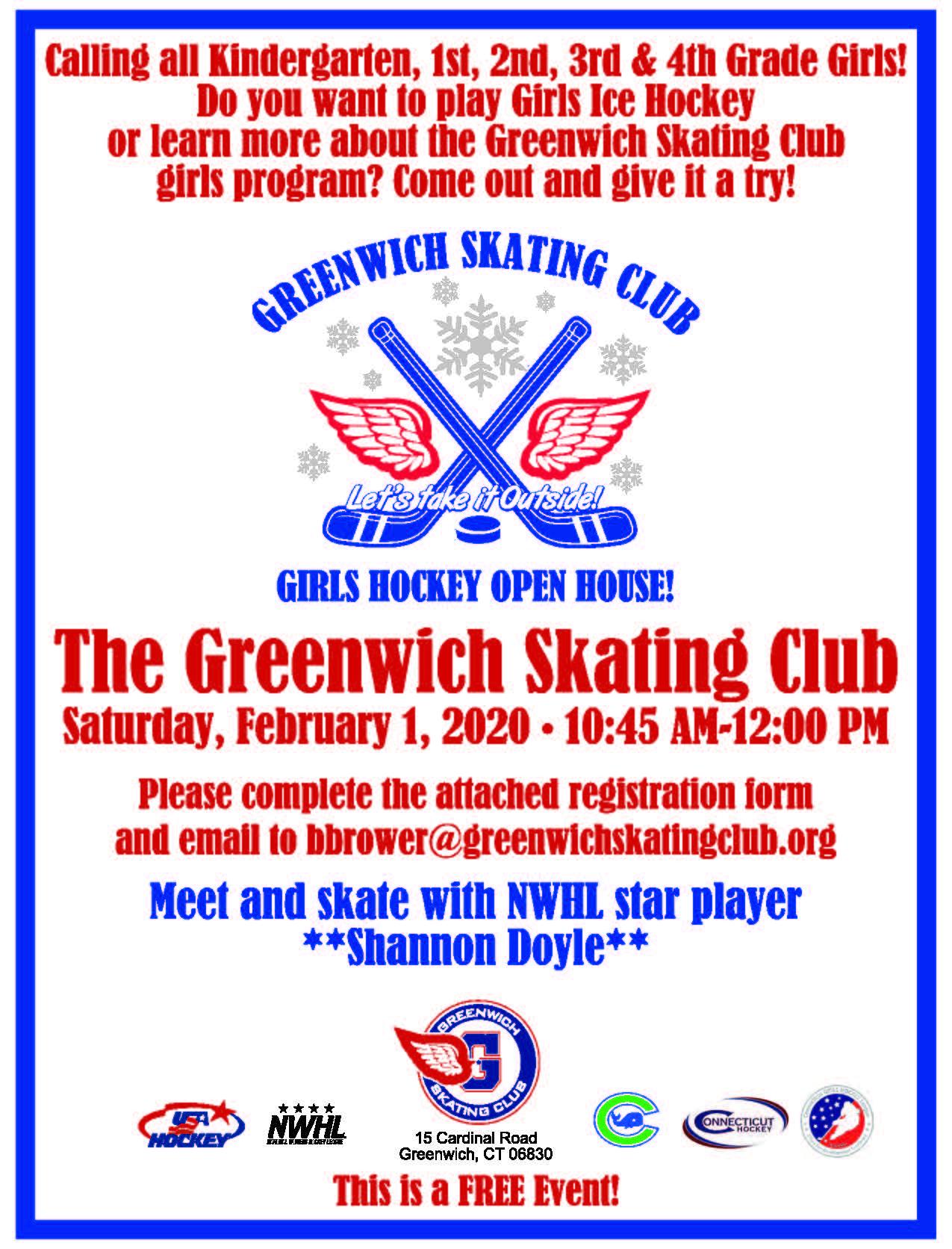 Girls Hockey Open House