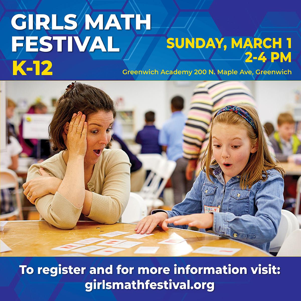 Greenwich Girls Math Festival (K-12)