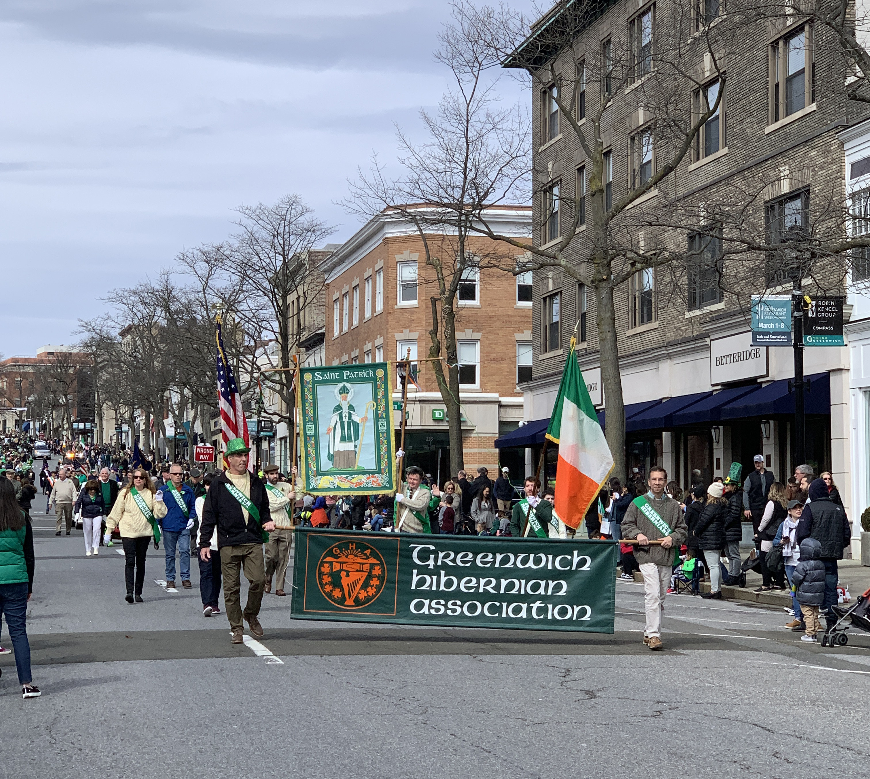 *CANCELLED* Greenwich Saint Patrick's Day Parade 2020