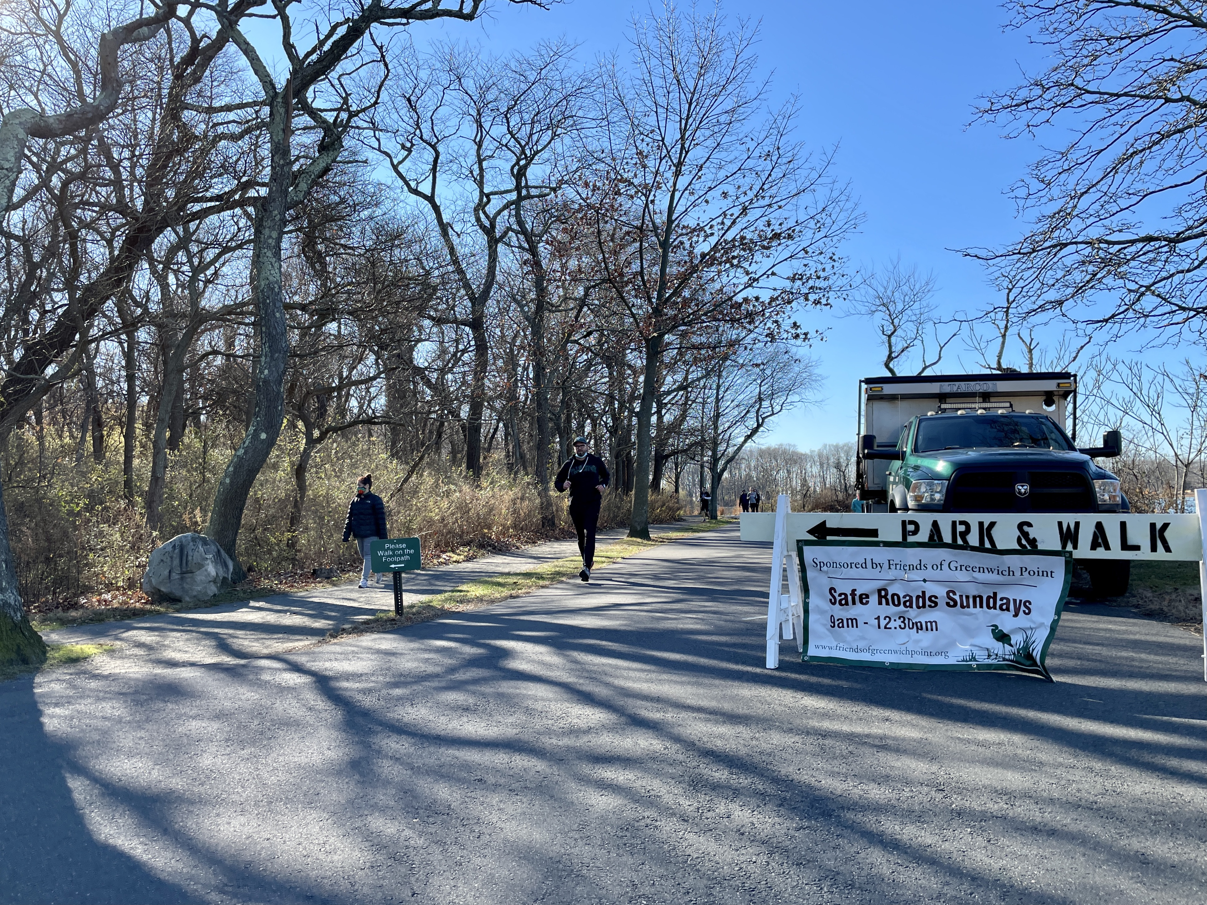 Safe Roads Sunday by Friends of Greenwich Point