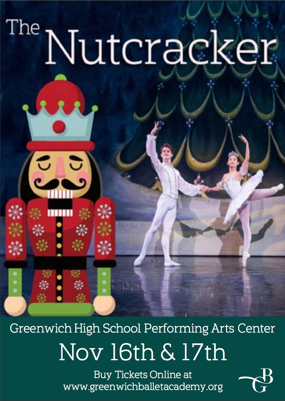 The Nutcracker @ Greenwich High School Performing Arts Center  @ 10 Hillside Road, Greenwich, Connecticut, 06830, United States