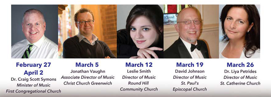 ree Lunch Recitals by Local Organists during Lent Season