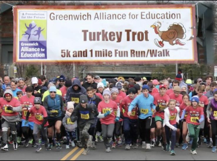 Greenwich Alliance for Education Turkey Trot 5k & 1 Mile Fun Run/Walk