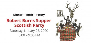 Robert Burns Supper Scottish Party