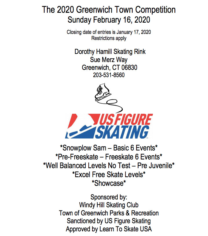 The Greenwich Town Ice Skating Competition