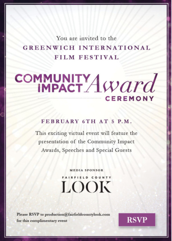 Greenwich International Film Festival Community Impact Award Ceremony