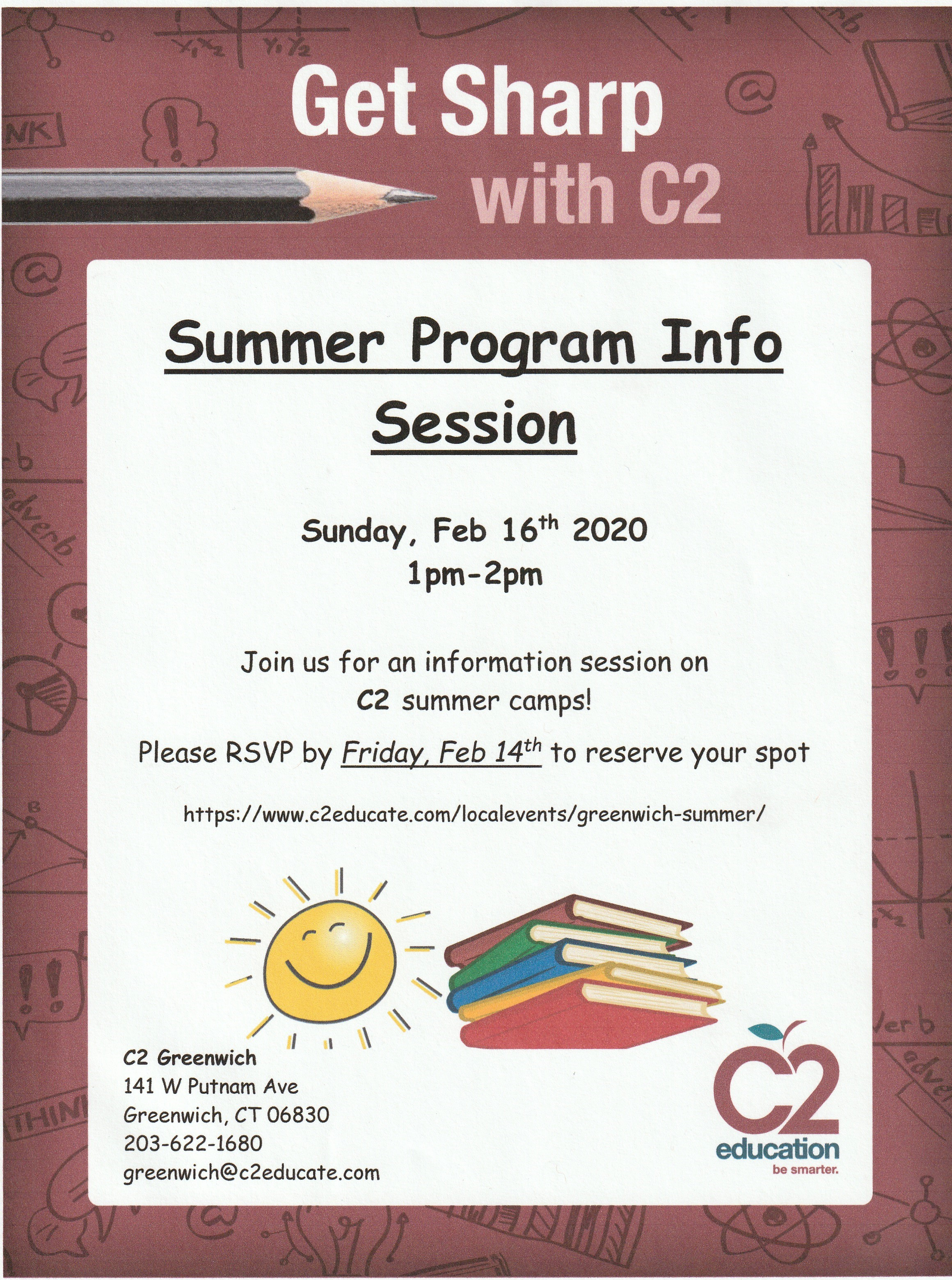 Summer Programs Info Session at C2