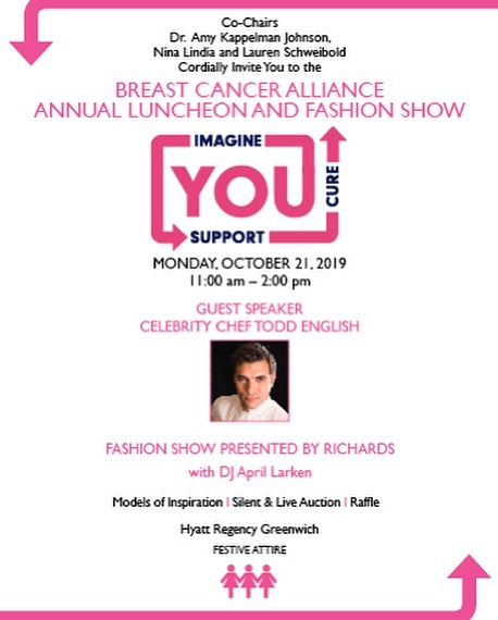 Breast Cancer Alliance Annual Luncheon and Fashion Show @ Hyatt Regency Greenwich @ 1800 East Putnam Avenue, Old Greenwich, Connecticut, 06870, United States