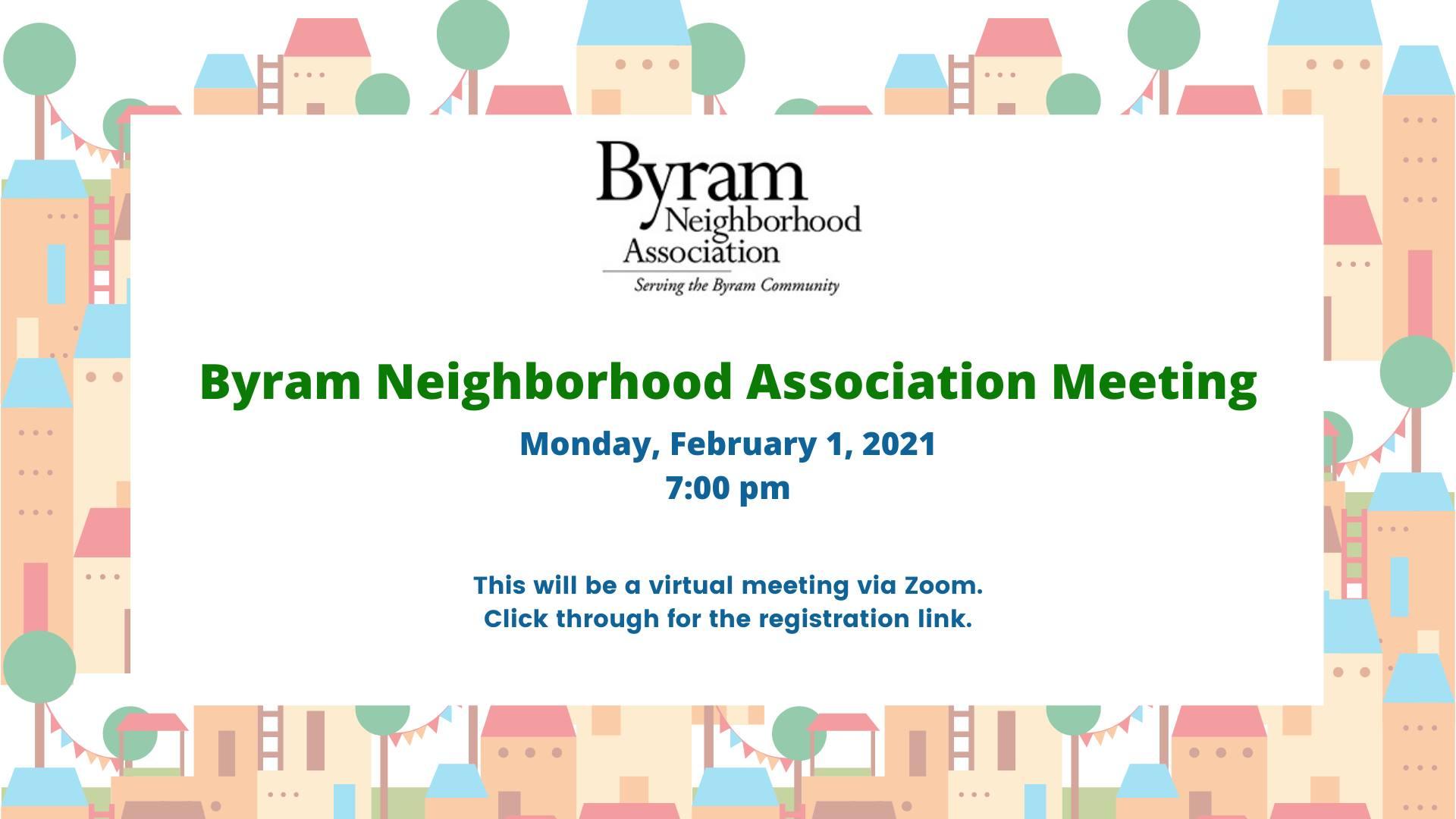 Byram Neighborhood Association Meeting