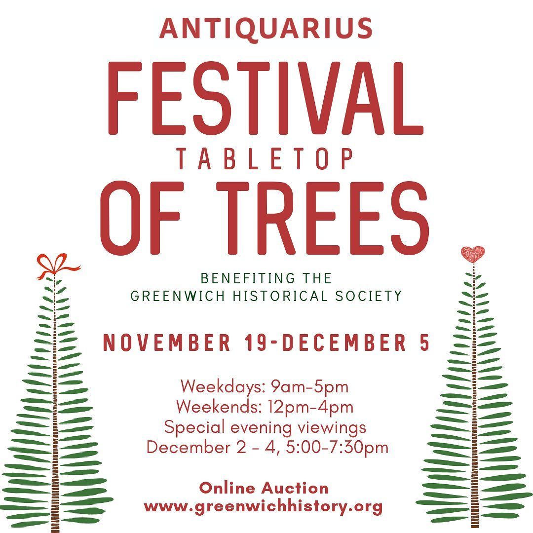 Festival of Trees by Greenwich Historical Society