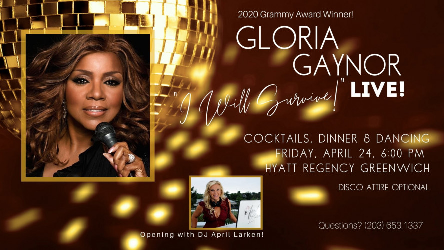 Grammy Award Winning Gloria Gaynor Live to benefit CLC!