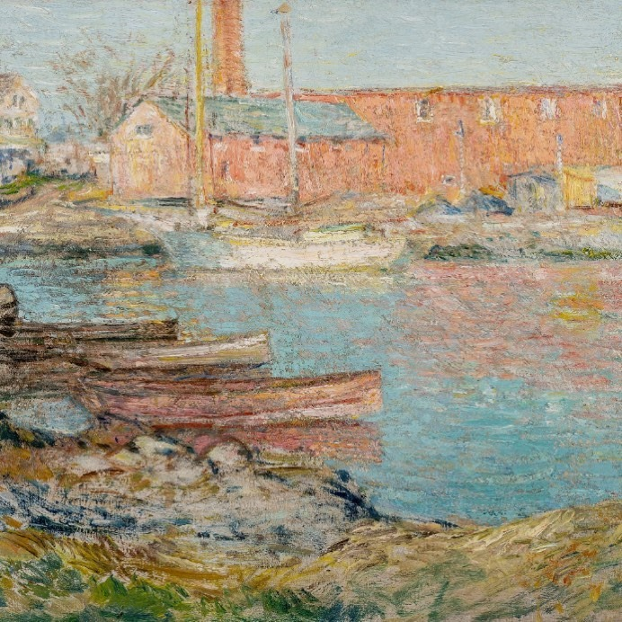 Lost Landscape Revealed:  Childe Hassam and The Red Mill, Cos Cob  Exhibition