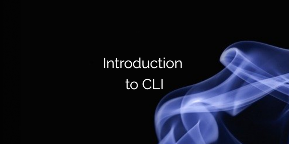 Introduction to CLI