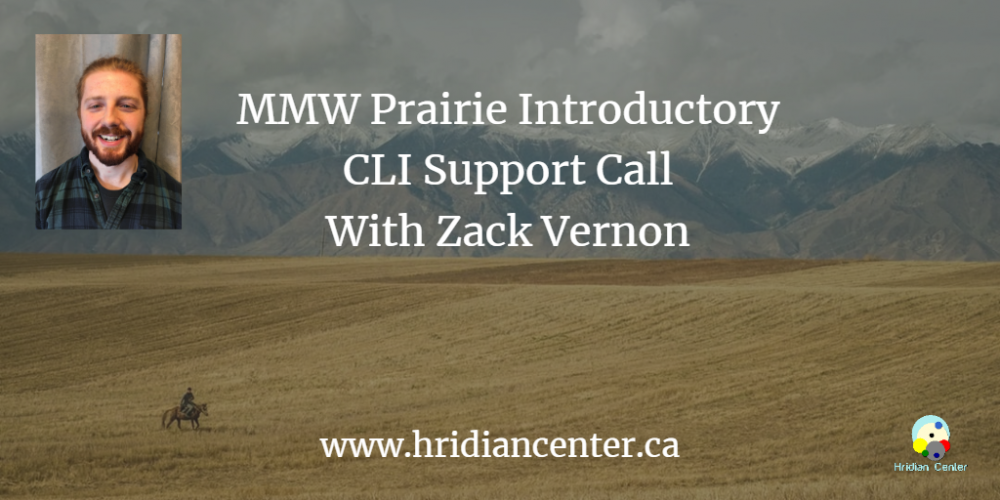 Introductory MMW Webinar Series with Zack Vernon