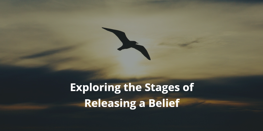 Exploring the Stages of Releasing a Belief