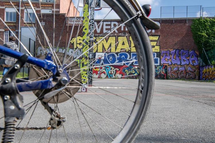 Roubaix Graff Session, visite Street Art