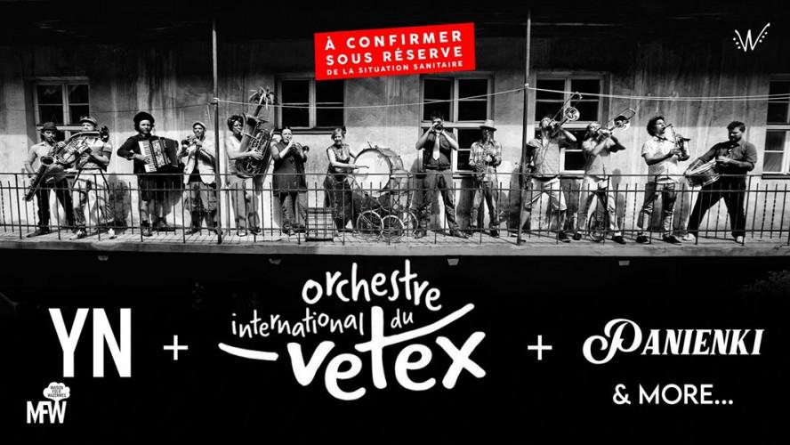 Vetex & Panienki & YN / MFW : Wazemmes l'Accordéon