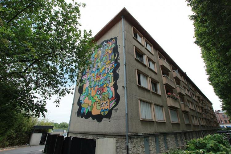 Visite guidée Art Mural - Lille Moulins