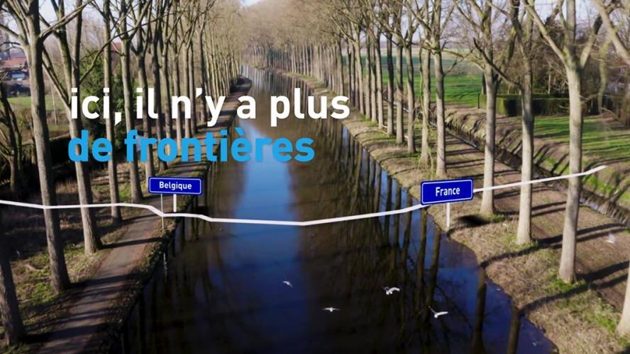 BlueWalks - Escaut-Schelde Marque Deule
