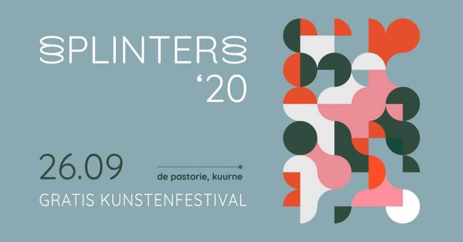 Splinters20   Gratis kunstenfestival Kuurne