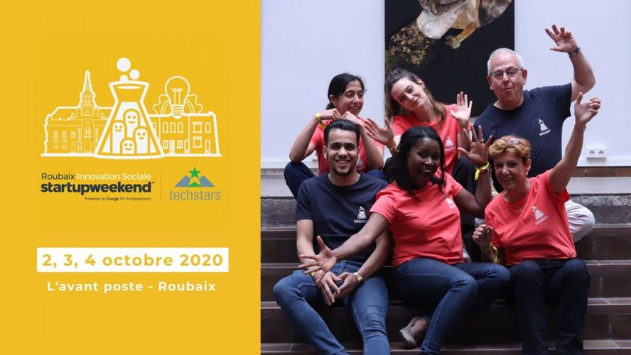 Startup Weekend Roubaix - Innovation Sociale