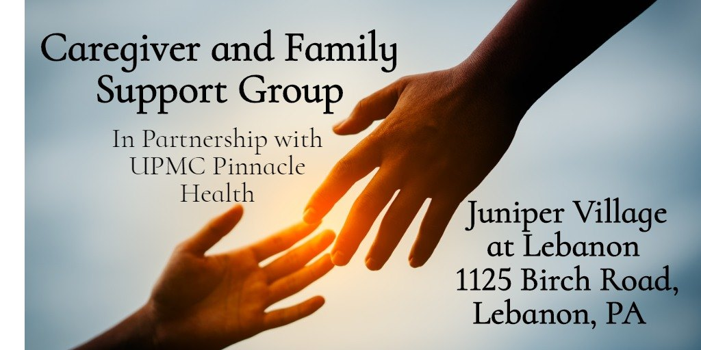 Caregiver and Family Support Group @ Juniper Village at Lebanon