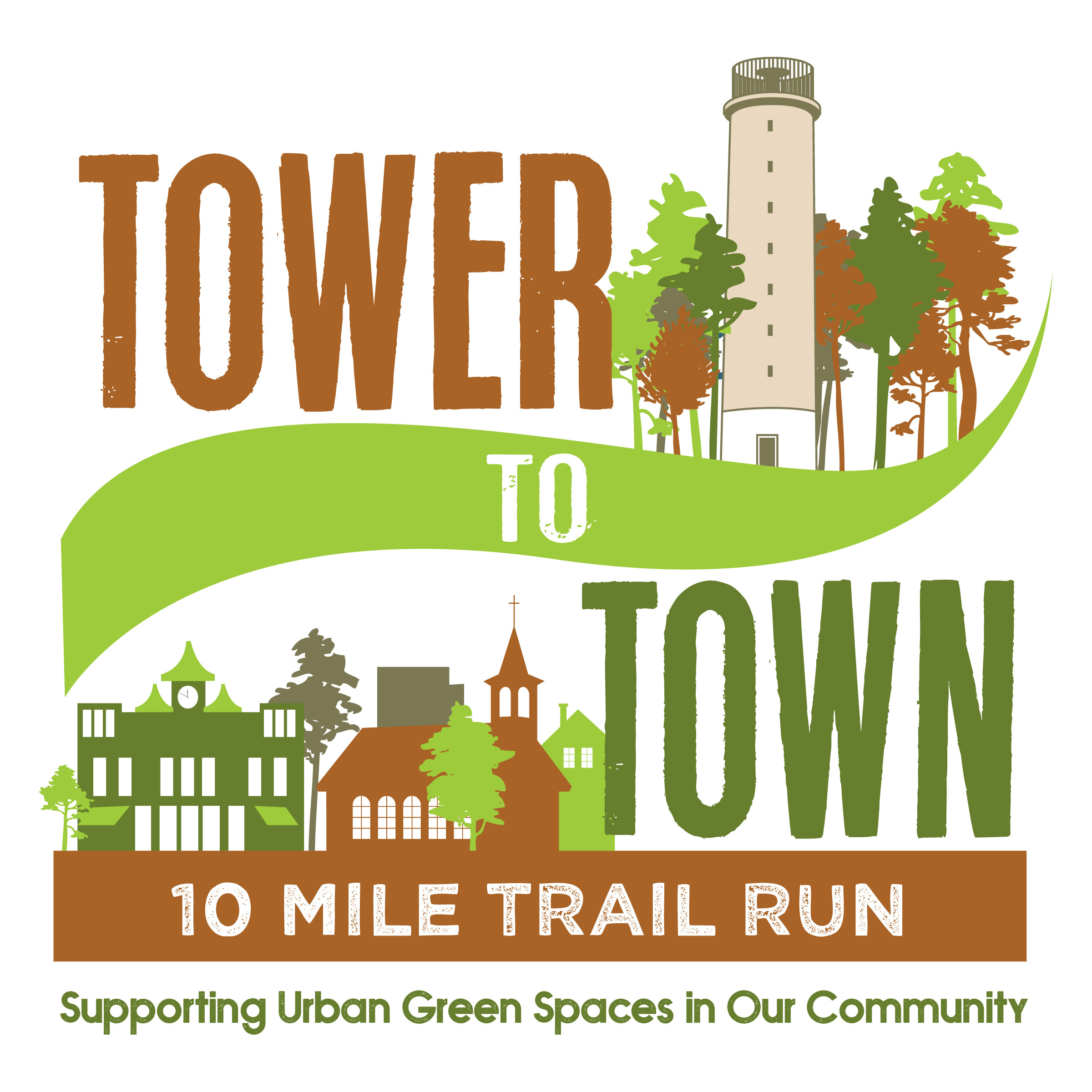 Tower to Town Race @ Governor Dick Park