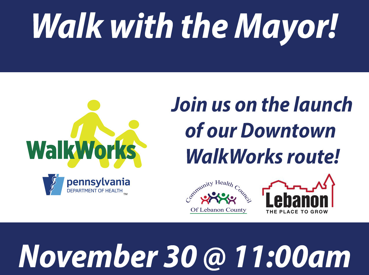 Walk with the Mayor - Small Business Saturday @ The Trellis at 9th and Cumberland Sts
