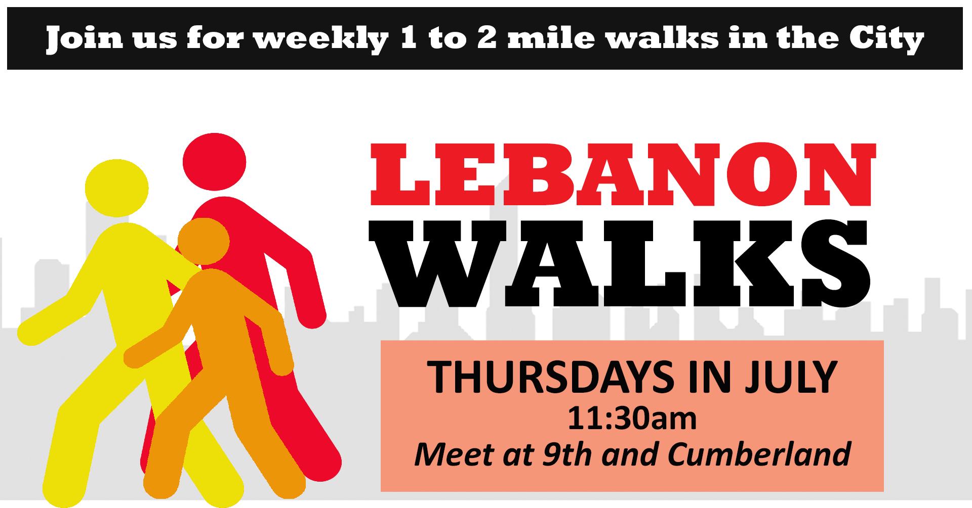 Lebanon Walks @ Downtown Lebanon