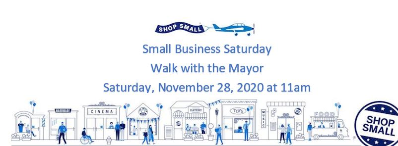 Walk with the Mayor - Small Business Saturday @ Downtown Lebanon
