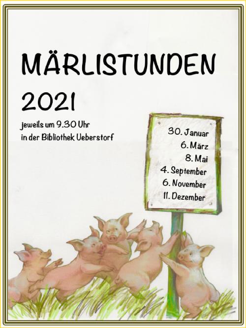 Gemeinde und Schulbibliothek Ueberstorf - Märlistunden