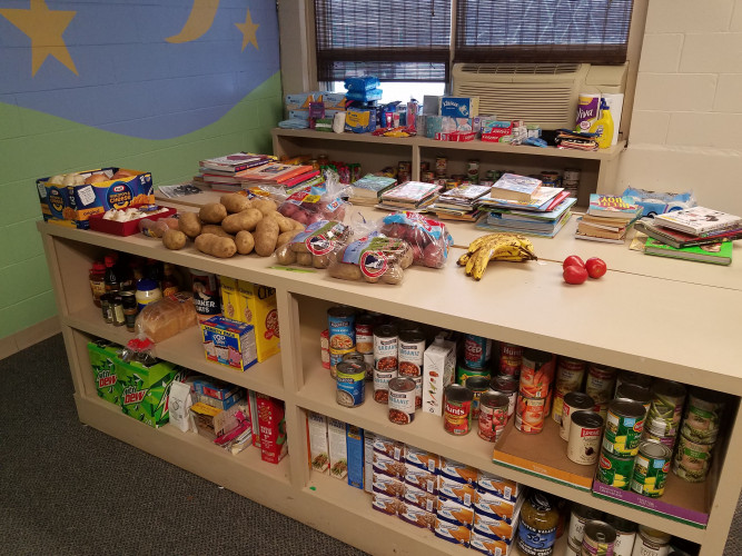No-Questions -Asked Food Pantry