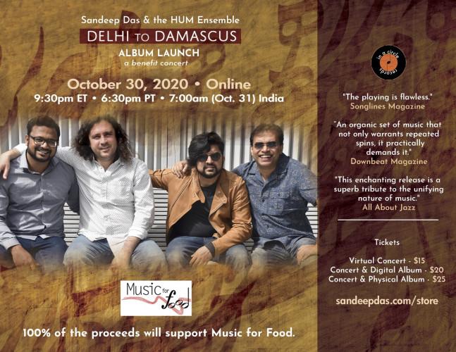 Delhi to Damascus Launch Concert