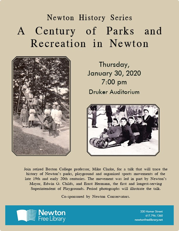 """""""A Century of Parks & Recreation in Newton"""""""